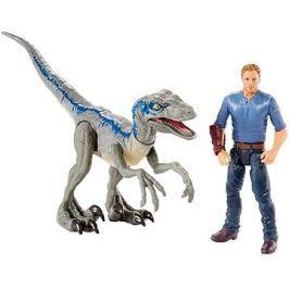 Jurský svět Dinopříběh  Velociraptor Blue a Owen