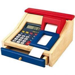 Dětská elektronická pokladna dřevěná