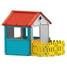 Dolu Dětský zahradní domeček s plotem