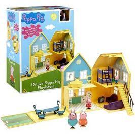 Prasátko Peppa - domeček de Lux + 4 figurky a příslušenství