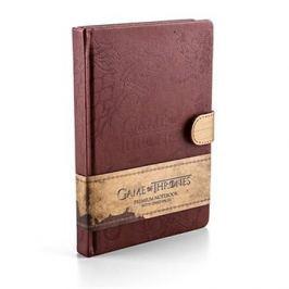 Hra o trůny - Emblém rodů - zápisník