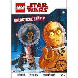 LEGO Star Wars Galaktické střety: Komiks, aktivity, minifigurka