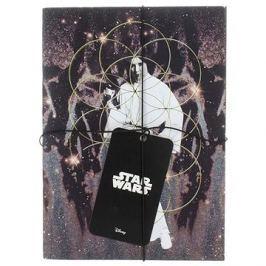 STAR WARS Darth Vader a Leia - Zápisník (2x)