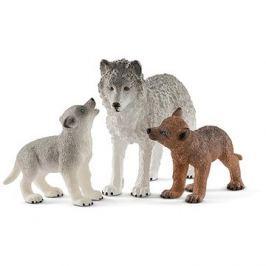 Schleich 42472 Vlčice a mládě vlka