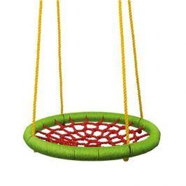 Woody Houpací kruh (průměr 83cm) - zelenočervený