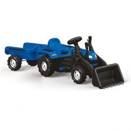 Dolu Šlapací traktor Ranchero s vlečkou a nakladačem