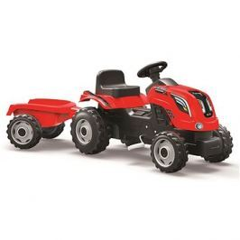 Smoby Farmer XL červený s vozíkem