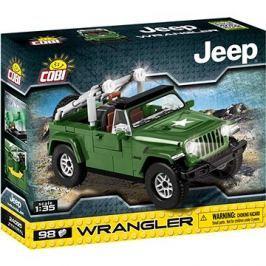 Cobi 24095 Jeep Wrangler vojenský