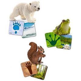 Schleich 42474 Vzdělávací kartičky - Wild life Schleich