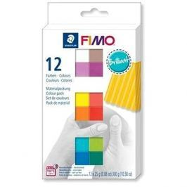 Fimo soft sada 12 barev Brilliant