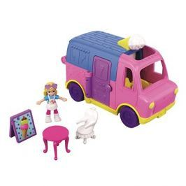 Polly Pocket Vozidlo Ice Cream truck Le camion de Glaces