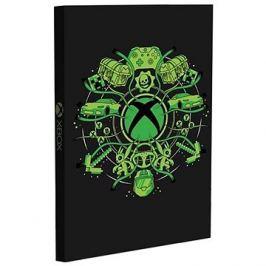 Xbox Light Up Notebook - zápisník