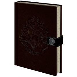 Harry Potter Hogwarts Crest - zápisník