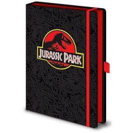 Jurassic Park Classic Logo - zápisník
