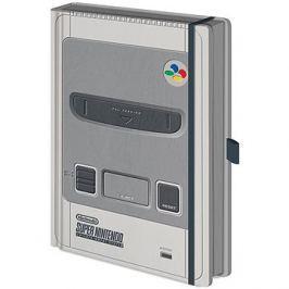 Nintendo SNES - zápisník