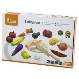 Dřevěné krájení - potraviny