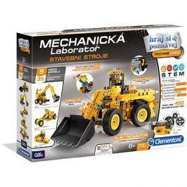 Clementoni Mechanická laboratoř stavební stroje