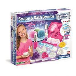 Clementoni Mýdla a bomby do koupele