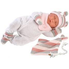 Llorens New Born spící 74058