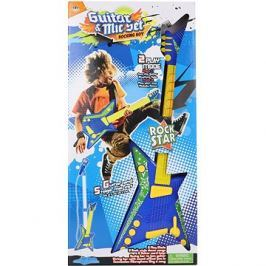 Kytara baterie + mikrofon