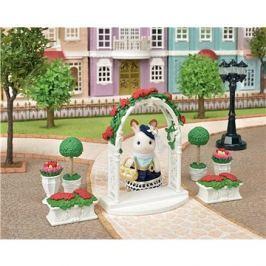Sylvanian Families Město - květinová výzdoba s bránou