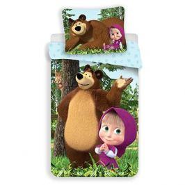 Jerry Fabrics ložní povlečení - Máša a Medvěd Forest