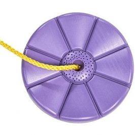 Houpačka CUBS Disk - květinka fialová