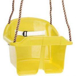 Houpačka CUBS Basic plastová - žlutá