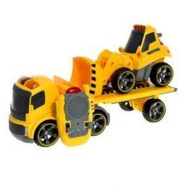 I/R Trailer Truck Plus Bulldozer