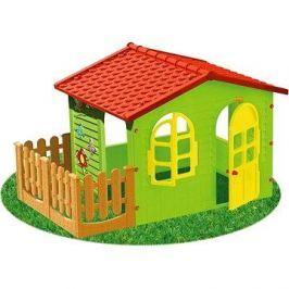 Dětský zahradní domek s plotem velký