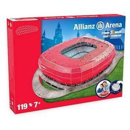 3D Puzzle Nanostad Germany - Allianz Arena fotbalový stadion Bayern Munchen