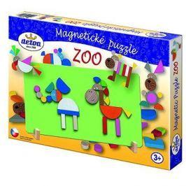 Dřevěné hračky - Magnetické puzzle ZOO