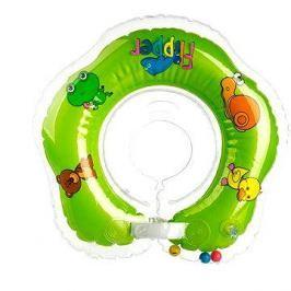Plavací nákrčník Flipper zelený