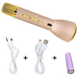 Eljet Karaoke Mikrofon Basic zlatý