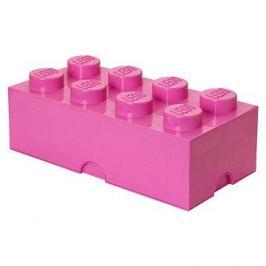 LEGO Úložný box 8 250 x 500 x 180 mm - růžový
