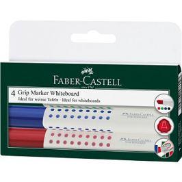 Faber-Castell Grip Marker Whiteboard, 4 ks