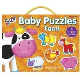 GALT Puzzle pro nejmenší – Zvířátka na farmě Didaktika a motorika