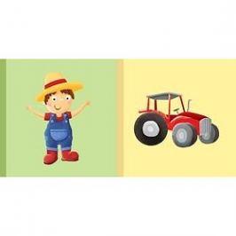 Dětská knížka Farmář Traktor