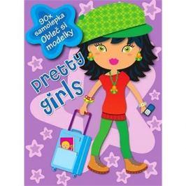 Pretty girls: 90x samolepka Obleč si modelky
