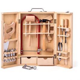 Woody Kovové nářadí v dřevěném boxu - velké