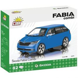 Cobi Škoda Fabia Combi model 2019 1:35