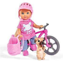 Simba Evička s bicyklem