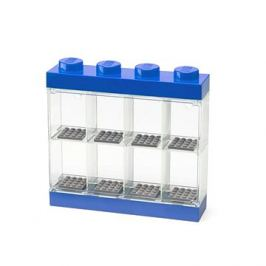 LEGO sběratelská skříňka na 8 minifigurek - modrá