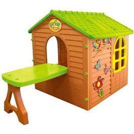 Dětský zahradní domeček se stolem