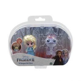 Frozen 2:  svítící mini panenka - Elsa Travelling & Fire Spirit