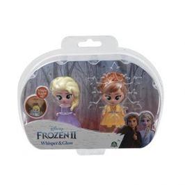 Frozen 2:  svítící mini panenka - Elsa Opening & Ana Opening