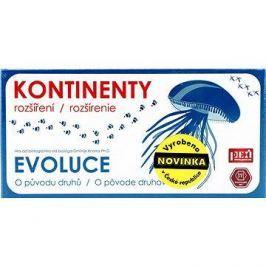 EVOLUCE - Kontinenty