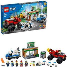 LEGO City Police 60245 Loupež s monster truckem