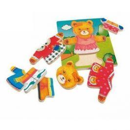Woody Puzzle obleč medvědici Puzzle