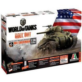 Italeri World of Tanks 56503 – M4 Sherman